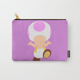 Pink Toad (Super Mario) Carry-All Pouch