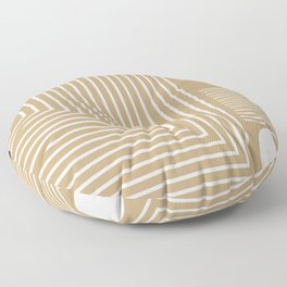 Lines & Circles Floor Pillow