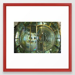 Lens of light Framed Art Print
