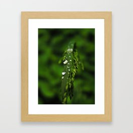 The weight of water Framed Art Print