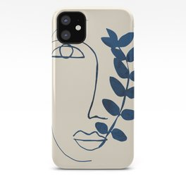 Abstract Face 5 iPhone Case