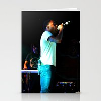 childish gambino Stationery Cards featuring Childish Gambino by Ashley Overton