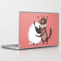 lamb Laptop & iPad Skins featuring Lamb by Alfonso Cervantes