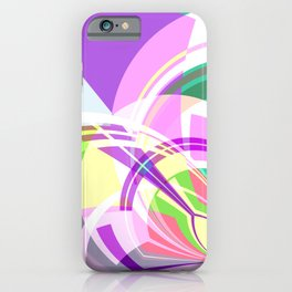 Colori Geometrica 2 C iPhone Case