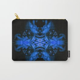 Blue Fire Dragons Carry-All Pouch