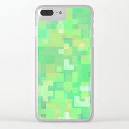 calm the unrest Clear iPhone Case