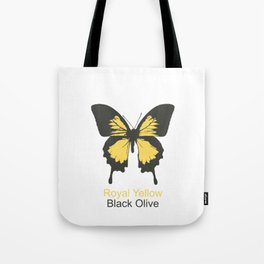 Ulysses Butterfly 6 Tote Bag