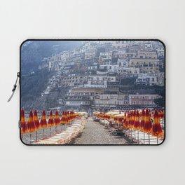 Beach Umbrellas of Positano Laptop Sleeve