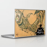 inner demons Laptop & iPad Skins featuring Inner Demons by Nash Gottfried