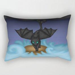 Fury of the storm Rectangular Pillow