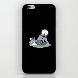 Moon Bath iPhone Skin