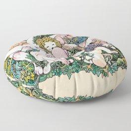 Animal Party Floor Pillow