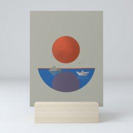 I am sailing Mini Art Print