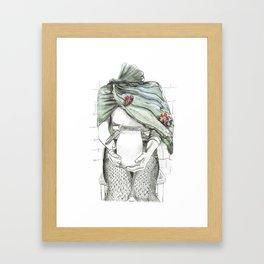 unlatched Framed Art Print