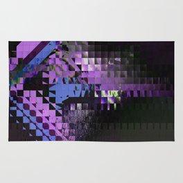 Purple Haze Aesthetic Rug