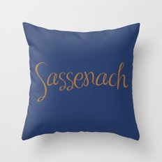 Sassenach Throw Pillow