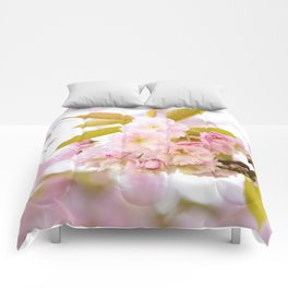 Sakura - Cherryblossom - Cherry blossom - Pink flowers on #Society6 Comforters