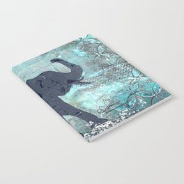Majestic Series: Turquoise and silver Notebook
