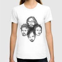 leon T-shirts featuring Kings of Leon by Simone Rohler Art
