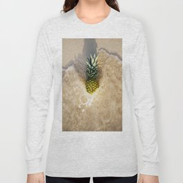 Summer Pineapple Long Sleeve T-shirt