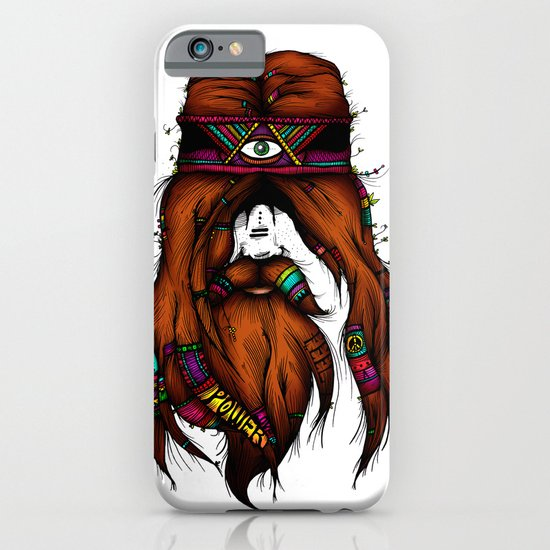 Feel, Peace, Love & Power (Color Version) iPhone & iPod Case