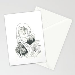 World Divided Stationery Cards