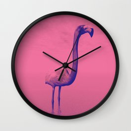 Flamingo Lingo Wall Clock