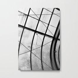 Greenhouse ceiling Metal Print
