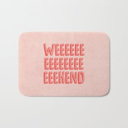 Weekend Bath Mat