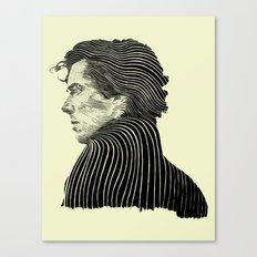 Sherlock Holmes ( Contour 04 ) Canvas Print