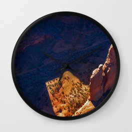 Photo USA Arizona Spider Rock Canyon de Chelly National Monument Crag Nature Parks Cliff canyons park Wall Clock