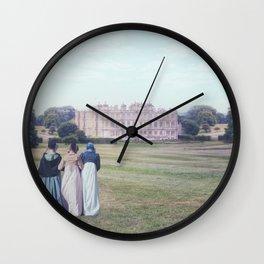 three Victorian ladies Wall Clock
