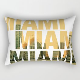 Miami Landscape Rectangular Pillow