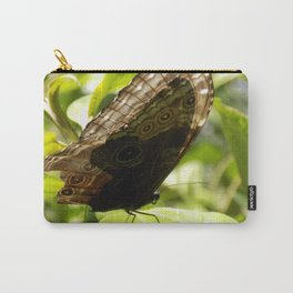 butterfly bathing in the sunlight Carry-All Pouch
