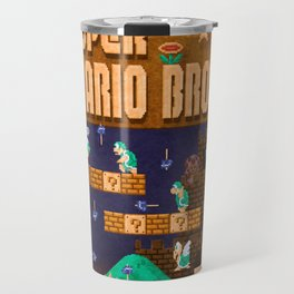 Mario Super Bros Travel Mug
