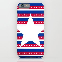 Red, White, & Blue iPhone Case