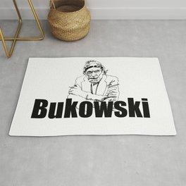 Charles Bukowski Drawing Rug