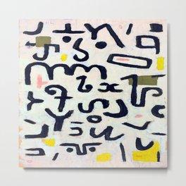 Paul Klee Law Metal Print