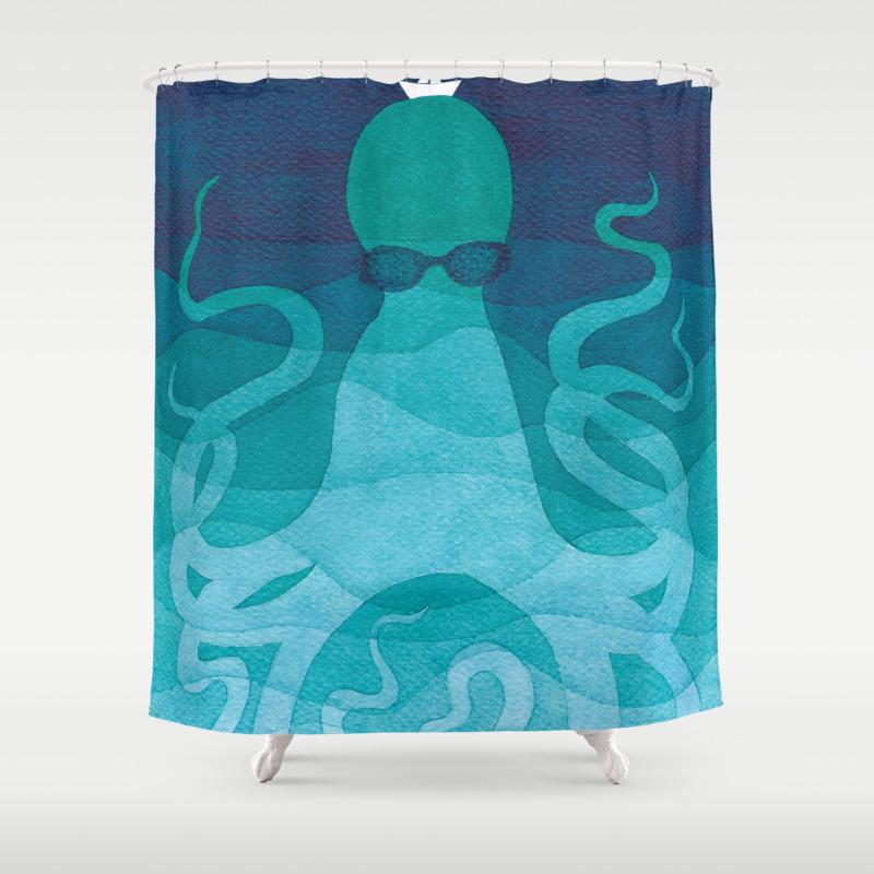 Ocean shower curtain - Ocean Shower Curtain 20