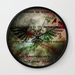 Astra Militarum Wall Clock