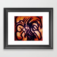 The Garnet In The Waves Framed Art Print