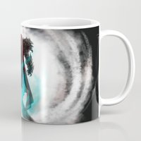 abyss Mugs featuring Abyss by Jacob Giordano