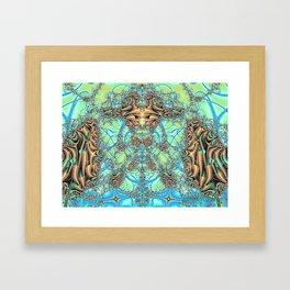 Holly King Framed Art Print