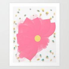 Floral Drops Art Print