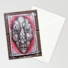The Face of Man II  Stationery Cards