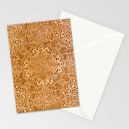 Alhambra lace carving Stationery Cards