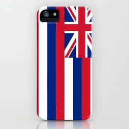 Flag of Hawaii, High Quality image iPhone Case