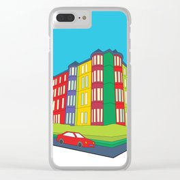 Tenement Corner Clear iPhone Case