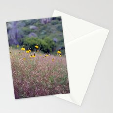montana yellow Stationery Cards