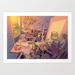 Sun Moth Art Print
